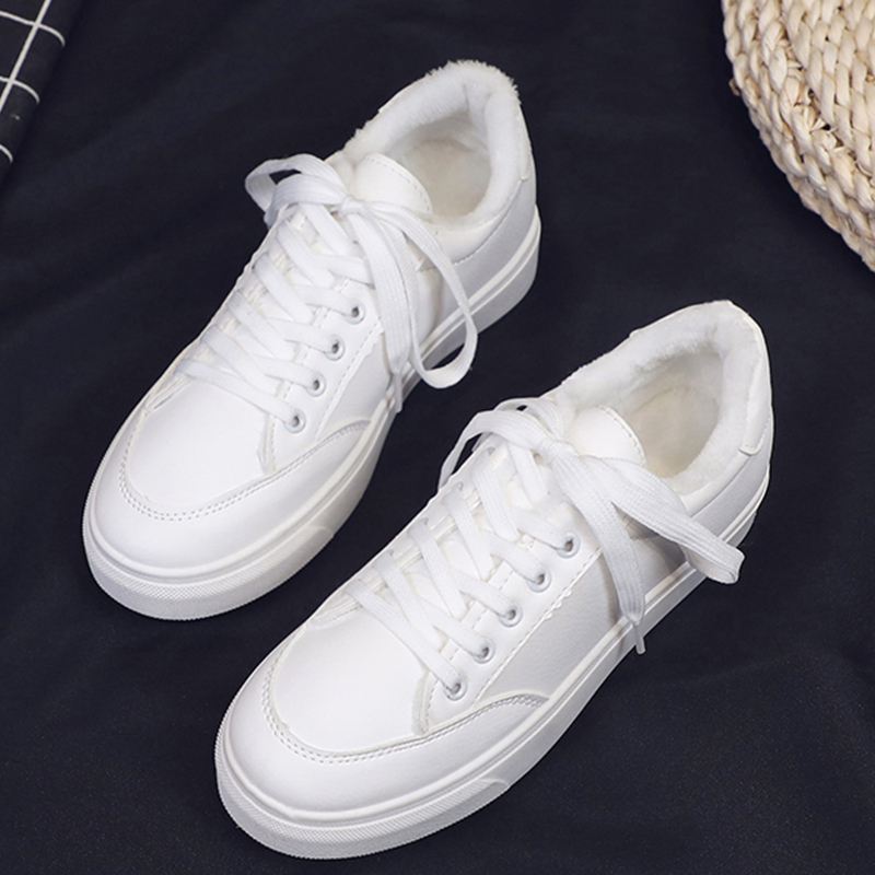 Moxxy 2019 Autumn Winter Designer Platform White Shoes Female Sneakers Women Tenis Feminino Casual Woman