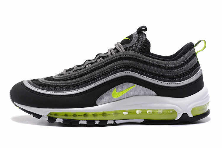6861b6ed41 Nike Air Max 97 Fluorescent Green Retro Flow Line Men Breathable 3M Badminton  Shoes,NIKE