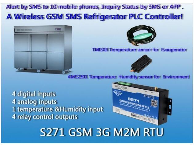 2G/3G GSM RTU Controller digital temperature controller water heater GPRS RTU S2