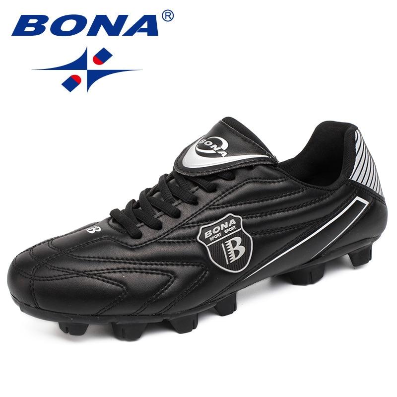 50aab582c2c9f بونا جديد وصول الكلاسيكية نمط الرجال أحذية كرة القدم في الهواء الطلق  الحديقة كرة القدم أحذية