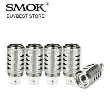 Wholesale 1/2/5 Packs SMOK TFV4 Quadruple Coil Q4 Head 0.15ohm Core 40W-140W for SMOK TF-V4 Tank Atomizer Pure Taste 5pcs/pack