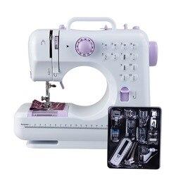 Fanghua мини 12 стежков швейная машинка с функцией оверлок швейная машина с инструкцией на русском языке