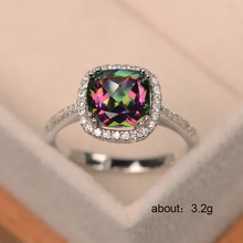 Ring silver 925 jewellery Zircon ring copper plated silver diamond ringen Stainless steel treasure B2393 B2394