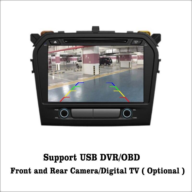 Liislee Android 7.1 2G RAM For Suzuki Grand Vitara 2015 Car Radio Audio Video Multimedia DVD Player WIFI DVR GPS Navi Navigation