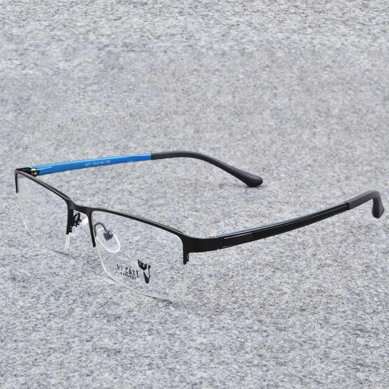 f63e48b3d6e ... Belmon Spectacle Frame Men Eyeglasses Korean Computer Prescription  Optical For Male Eyewear Clear Lens Eye Glasses