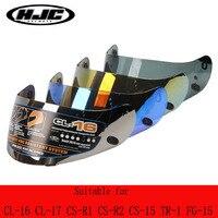 HJC motorcycle helmet lens suitable for CL 16 CL 17 CL ST CL SP CS R1 CS R2 CS 15 TR 1 FG 15 HS 11 FS 15 FS 11 helmet no pinlock