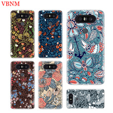 Deep Color Flowers Durable Soft Phone Case For LG V40 G6 G7 Q6 Q8 Q7 G5 G4 V30 V20 V10 K8 K10 2018 2017 Customized Cases Coque