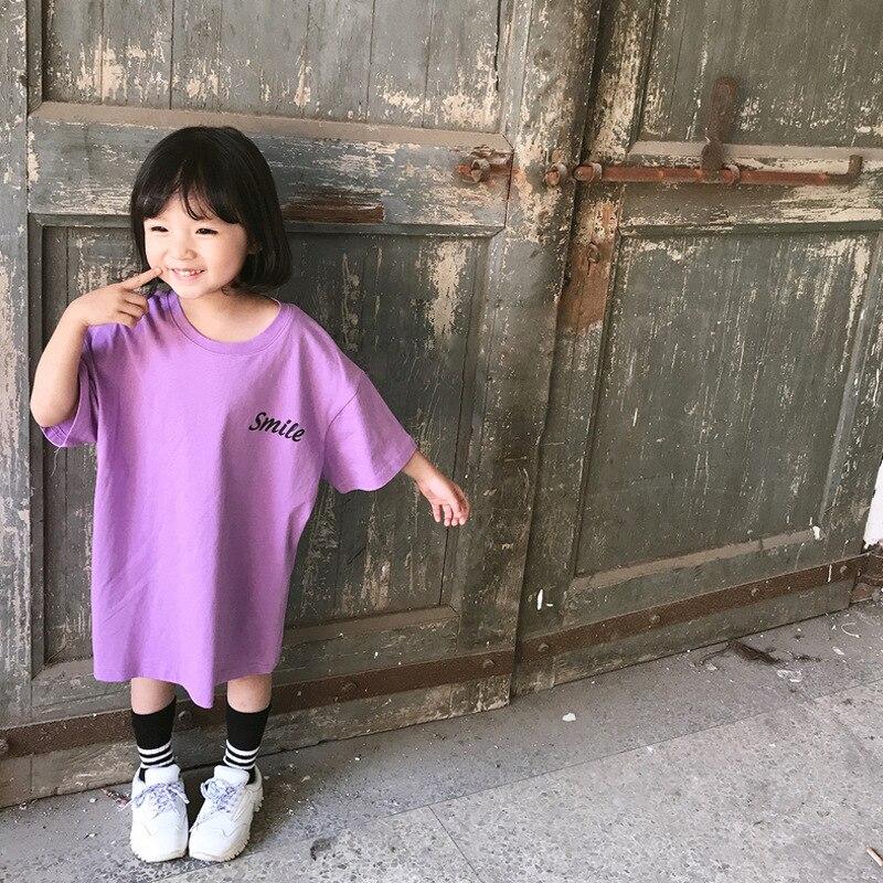 2019 novo item de verão menina longa