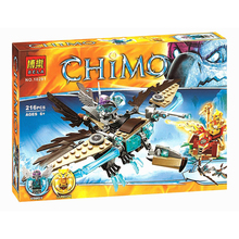 Bela 10291 Vardy's Ice Vulture Glider 216pcs Minifigures toys gifts building blocks for child