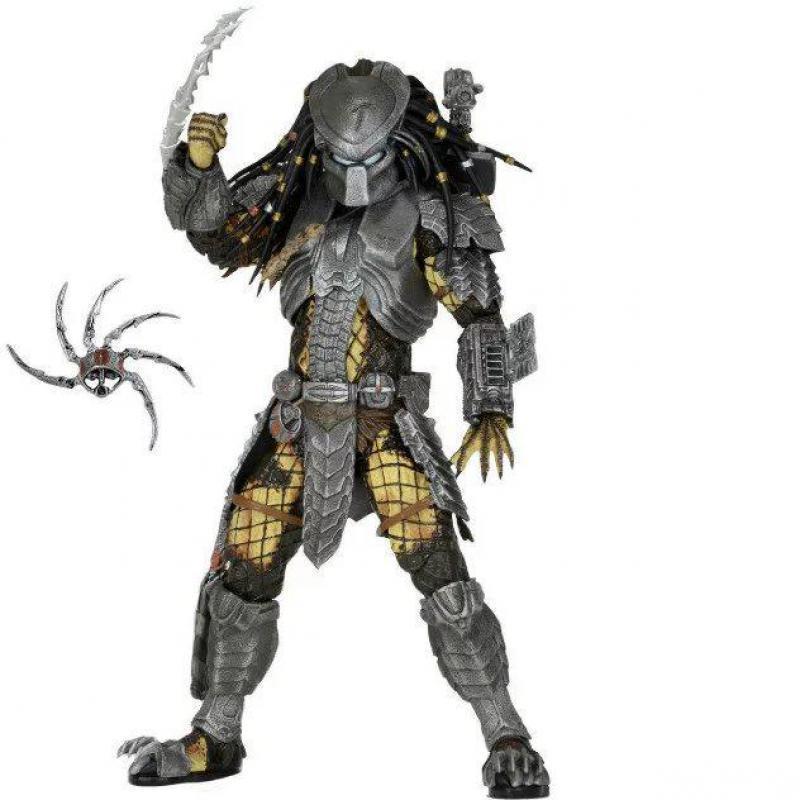 Avp Aliens Vs Predator Series Alien Covenant Elder Predator Serpent Hunter Youngblood Predator Movie Toys Action Figures цена