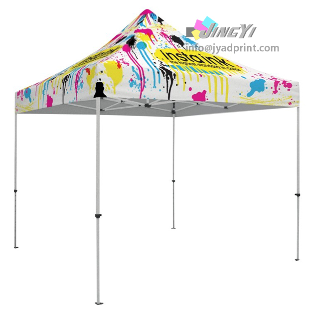buy online b1096 3620d US $492.0 |Full Color Dye Sublimation Printing Heat Transfer Print LOGO  Brand POP up Tent Canopy-in Flags, Banners & Accessories from Home & Garden  on ...