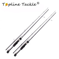 Topline Tackle fishing rod surf spinning travel fly fishing rods telescopic carp mini ultralight fish rod 1.8m
