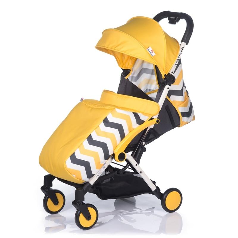 Коляска детская прогулочная Babyhit Amber Plus коляска прогулочная babyhit amber plus цвет желтый