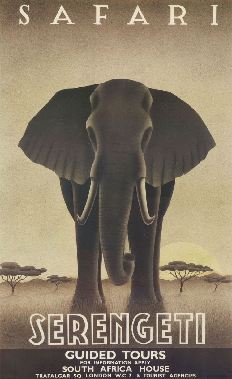 online get cheap safari wall paper aliexpress com alibaba group safari serengeti south africa elephant scenery vintage classic retro decorative poster diy wall stickers posters home decor gift