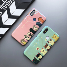 cute 3d cat paw phone case for xiaomi mi A2 A1 6 8 SE blue ray cartoon soft silicon back cover for xiaomi mi 8 lite case shell