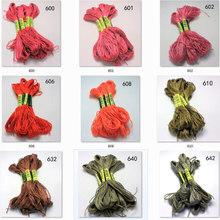10 pieces cross stitch threads  cross stitch embroidery thread Custom threads colors 04 tanie tanio CN(Origin) Dyed 0 02 Polyester Cotton Mercerized Knitting Crochet Weaving Hand Knitting Sewing Other Spun Abrasion-Resistant