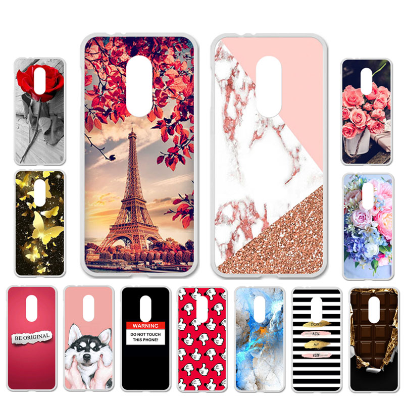 DIY Patterned Silicon Case For Alcatel 3 Case Soft TPU Cartoon Phone Cover For Alcatel 3C 5026D Covers Anti-Knock Shell