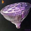 4 шт. 18x3 Вт Led PAR свет Светодиодный прожектор для внутреннего выращивания зеленый дом гидропоники системы