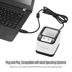 Image 5 - Aibecy 2200 1D/2D/QR Codeสแกนเนอร์CMOSภาพเดสก์ท็อปเครื่องอ่านบาร์โค้ดUSBเครื่องอ่านบาร์โค้ดOmnidirectionalหน้าจอ