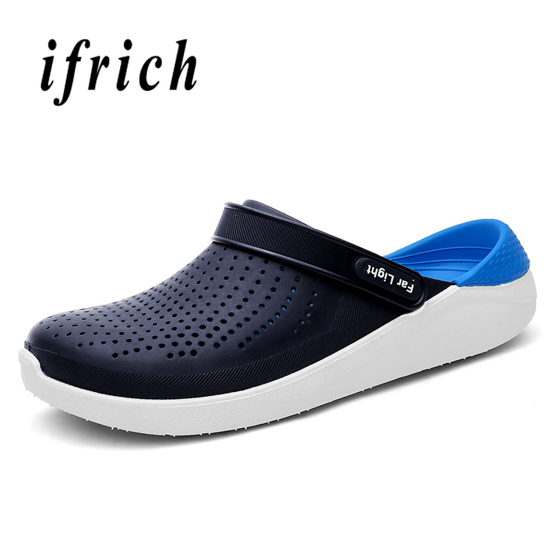 EiGo Slippers Racism Non-slip Sandals Shower Shoes for Man Woman