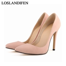 цены Brand Womens Shoes High Heels Women Pumps 11Cm Heel Shoes Woman Pumps Sexy Pointed Toe Wedding Shoes NLK-C0100