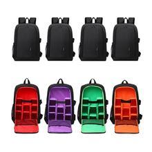 Качественный мульти-функциональная камера видео сумка водостойкая Сумки для фотоаппаратов DSLR для Nikon Canon камера рюкзак для фотографа