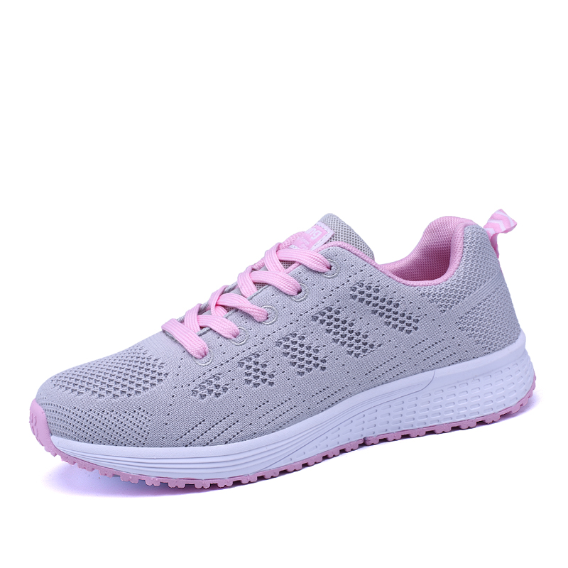 Basket Femme 2019 Hot Sale Women Casual Shoes Breathable Mesh Sneakers Trainers chaussures femme zapatos mujer Tenis Feminino