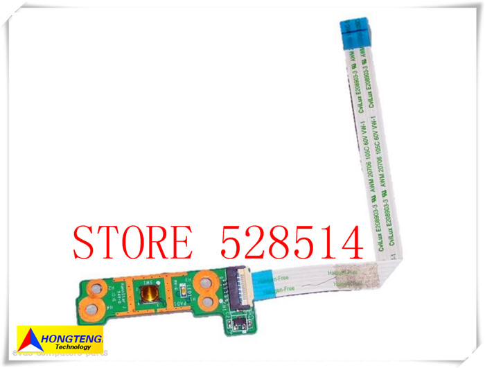ФОТО original for HP Pavilion DV6-3000 Series DV6Z-3000 Power Button Board PN DA0LX6PB4D0 100% Test ok