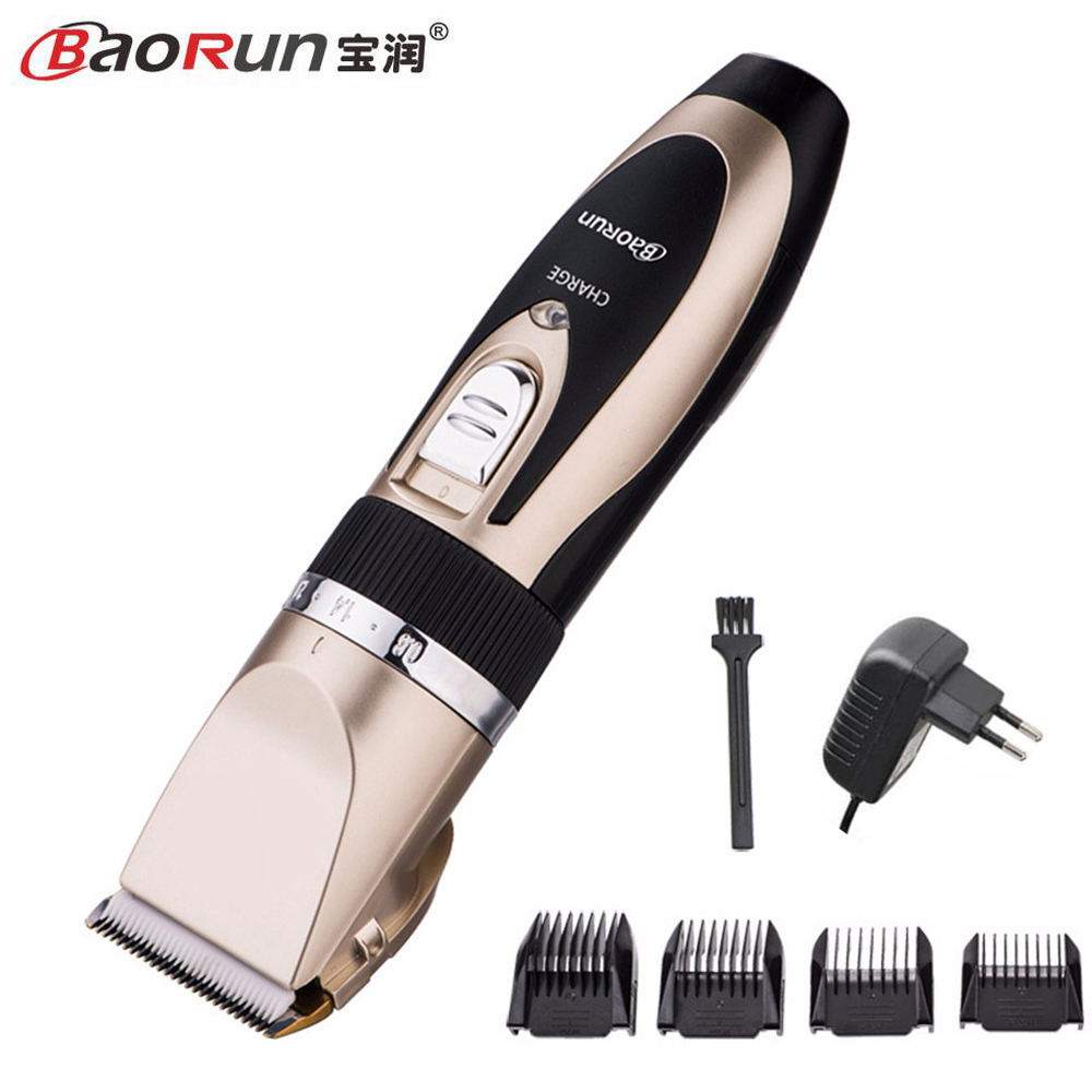 Professional Clipper Hair Trimmer Beard For Men Electric Cutter Hair Cutting Machine Haircut For Barber Ceramic Blade 100pcs professional stainless steel cuticle cutter nipper clipper edge cutter shear manicure trimmer scissor plastic