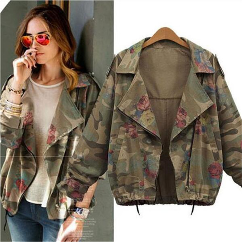 Online Get Cheap Womens Military Jacket -Aliexpress.com | Alibaba ...