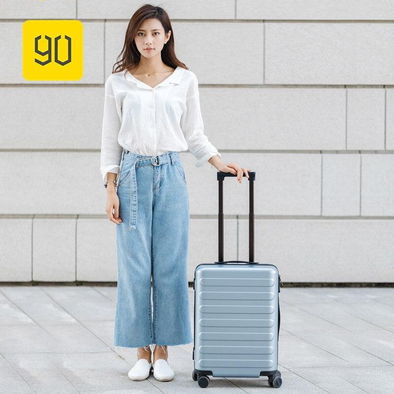 Xiaomi 90FUN Voyages D'affaires Double Fonction Bagage À Roulettes avec Serrure Spinner PC Valise Chariot Sac De Voyage 20 /24 /28