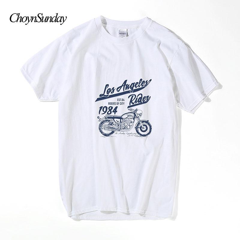 2018 ماركة choynsunday لوس أنجلوس موتور طباعة - ملابس رجالية