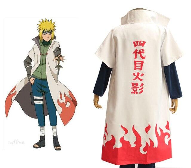 Naruto Namikaze Minato Cloak