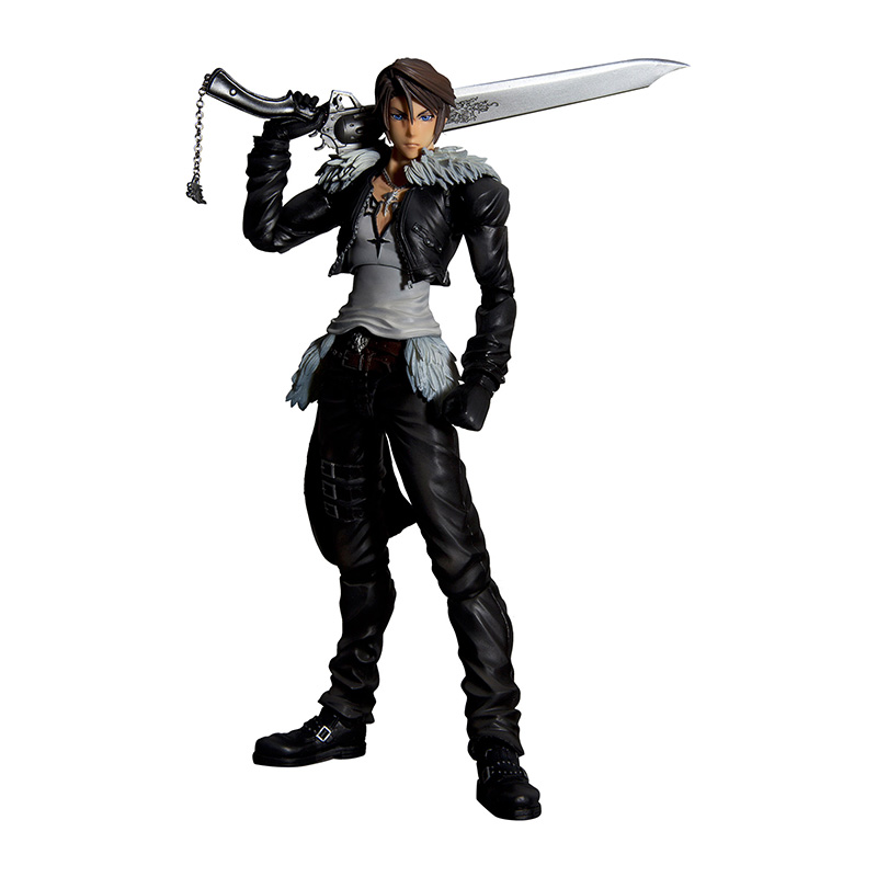 Final Fantasy Dissidia Play Arts Kai Action Figure - Squall Leonhart