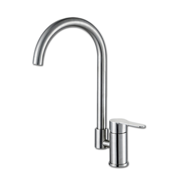 Free shipping Fashion 304 stainless steel kitchen faucet with single handle kitchen sink faucet by leadfree kitchen water faucet