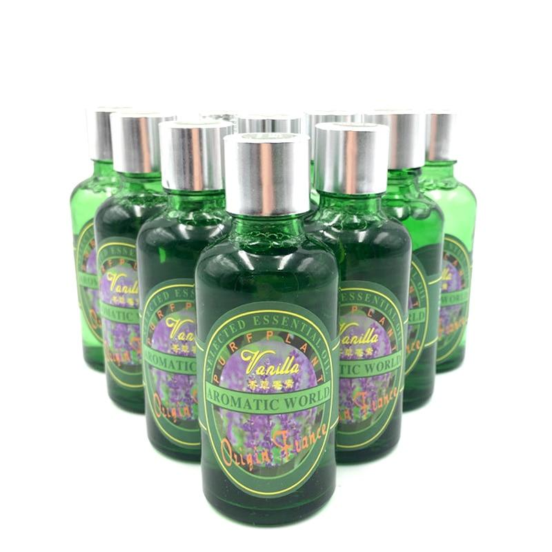 50ml perfumes 100 originais carro purificador de ar umidificador reabastecimento planta natural essencial auto perfume aromatizante no carro