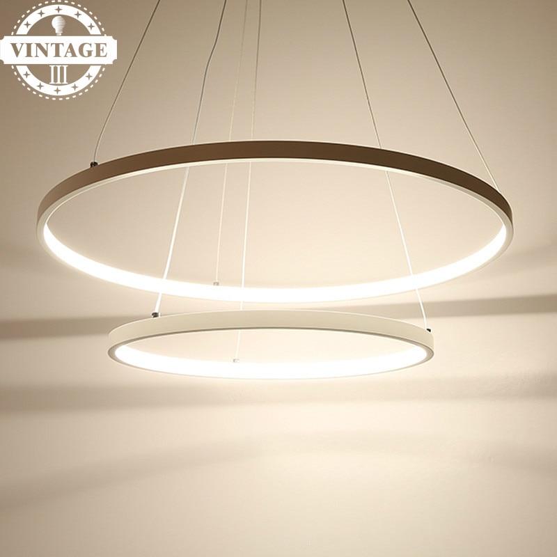 Living Dining Room LED Lustre Pendant Lamp Modern