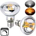 ES regulável R80 Refletor LED Filamento da Lâmpada 8 W, 60 W Substituição E26 Edison Parafuso E27 R80 LEVOU Spot Light para Iluminação Comercial