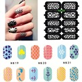 Nail Hollow Stencil Hollow Out Nail Art Template Sticker Decal Reusable Stencil Guide Tips Nail Printing Template