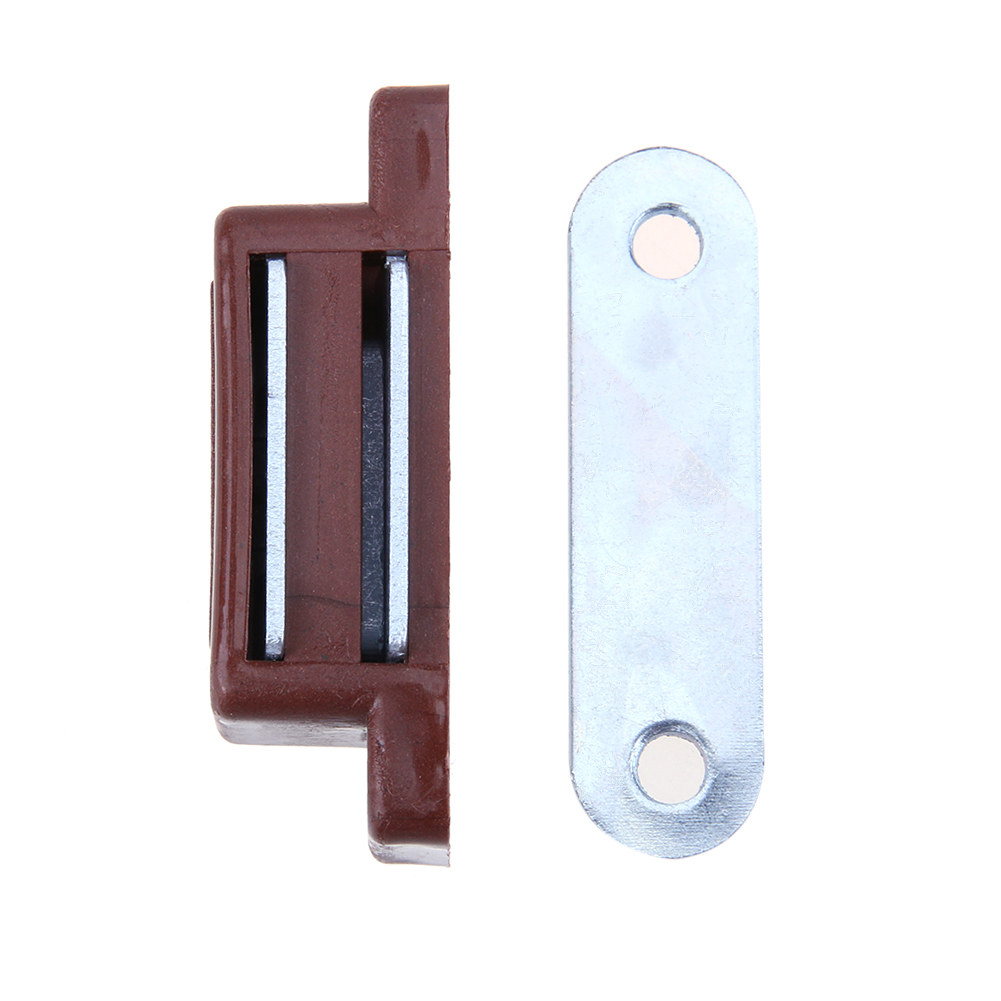 10pcsset cupboard door touch cabinet door suck sensor plastic magnetic cabinet catches latch
