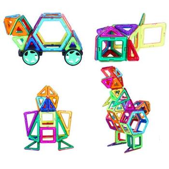1 PCS standard size Magnetic Building Blocks 24 different types Kids Educational Toys Plastic DIY Blocks toys 6