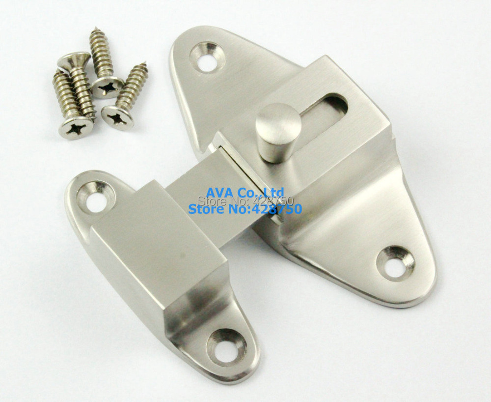 Top Grade Dull Polish Stainless Steel Door Bolt Lock Latch Security Latch