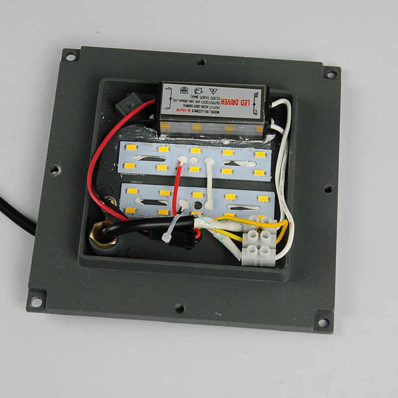 LYFS наружный настенный светильник IP65 водонепроницаемый наружный настенный светильник балкон светодиодный настенный светильник 10 Вт вилла сад коридор огни