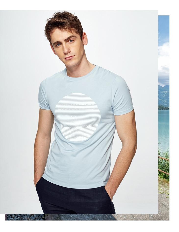 HTB1Mu9SA9tYBeNjSspkq6zU8VXap - SELECTED  cotton round collar short-sleeved T-shirt C|4182T4593