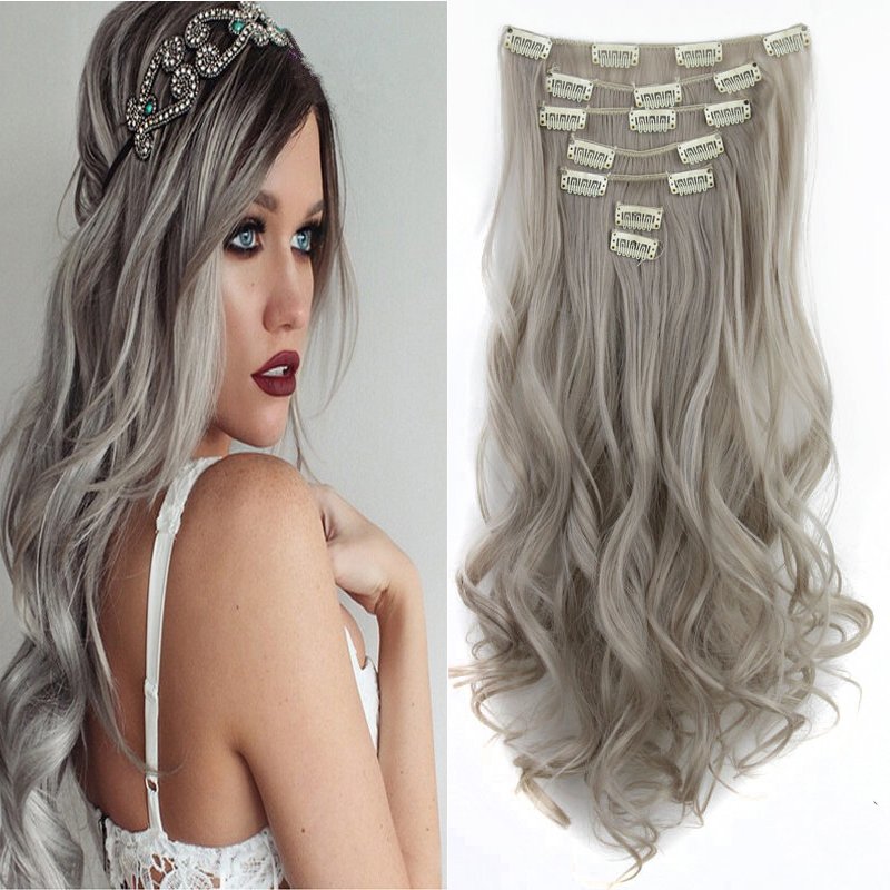 "length 55cm 130g 7pcs set 22"" silver"