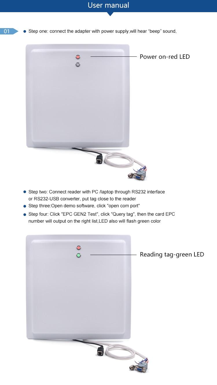Integrated uhf long range reader -CF-RU5112T (4)