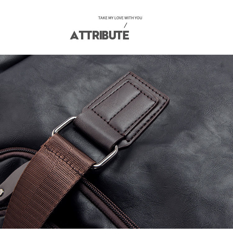 Topdudes.com - Large Capacity Fashionable Travel Duffel Bag