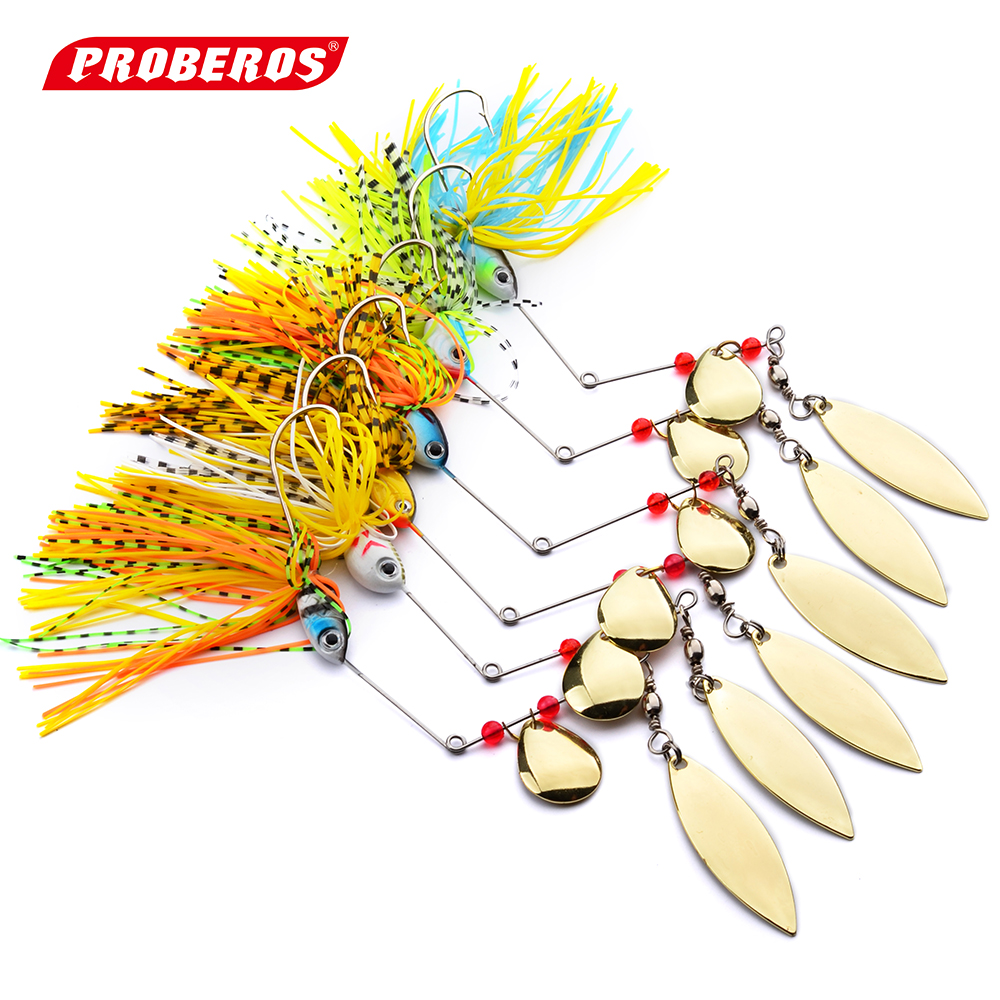 New design fishing tackle 6 color spoon lures 6pc spinner for Spinner fishing lures