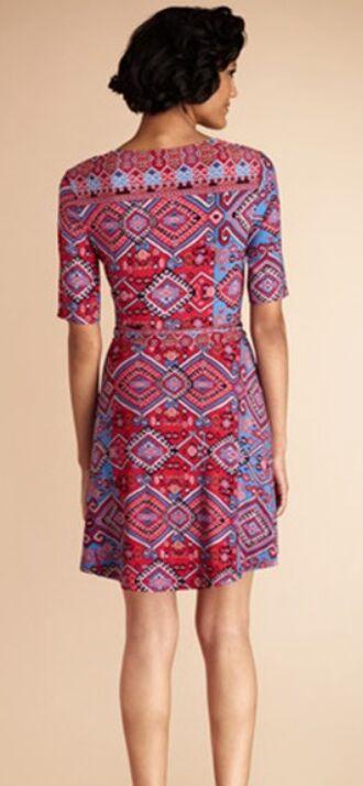 V xxl Manches Rétro Imprimé Européenne Soie Géométrique Cou 2014 Robe Jersey Robe Designer De Gaine Marques Courtes Femmes S qxzUqH8