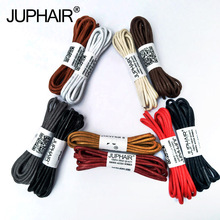 1 Pair 80-160 cm Waxed Cord Colored Shoelaces Leather Laces Shoe Loading Lace for Sports Canvas Sneaker Boots Shoes Cord  Unisex недорого